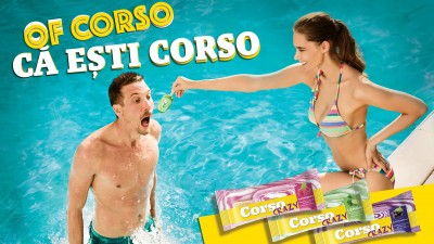 Inghetata CORSO devine sursa inepuizabila de distractie a tinerilor printr-o noua campanie nebuna de tot-tot-tot semnata de Graffiti BBDO