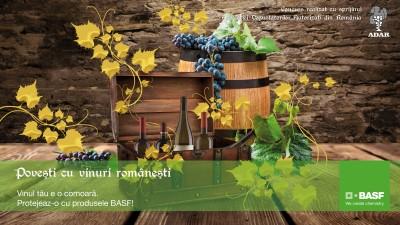 """""""Povesti cu vinuri romanesti"""", volum scris si implementat de Mercury360 pentru BASF Romania"""