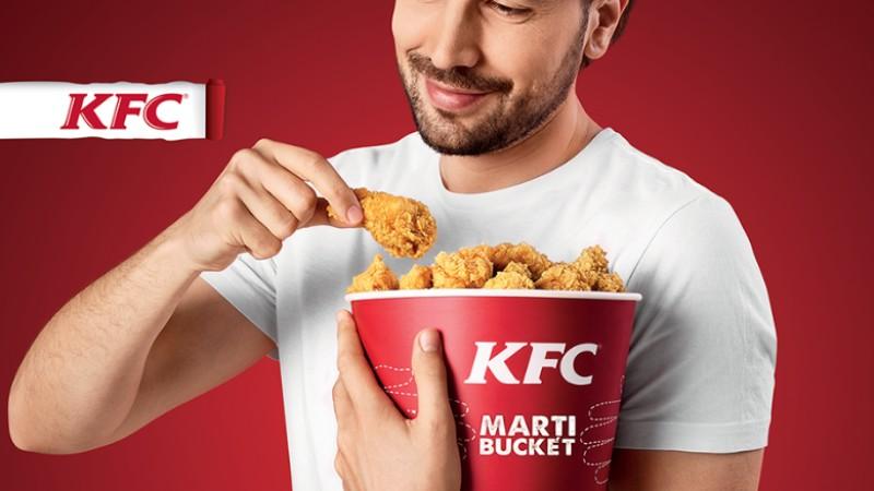 Marți Bucket, una dintre cele mai apreciate oferte din meniul KFC, revine în restaurante