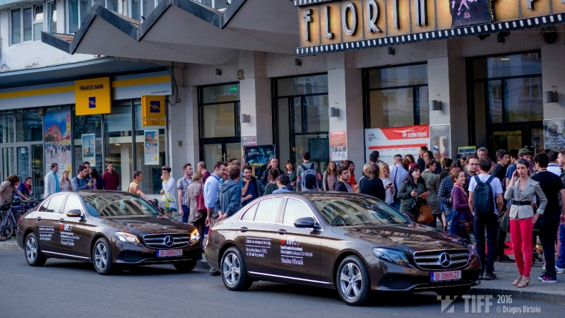 Mercedes-Benz Romania si TIFF au celebrat 10 ani de parteneriat in lumina reflectoarelor