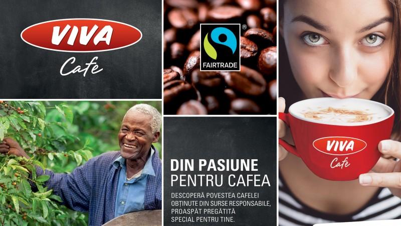 OMV VIVA CAFE aduce certificarea FAIRTRADE in Romania