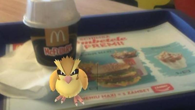 Pokémonii au ocupat restaurantele McDonald's din Bucuresti