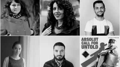 Au fost desemnați câștigătorii competiției ABSOLUT Call for Untold