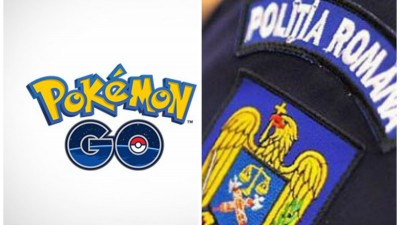Politia Romana, fata-n fata cu o noua provocare: pokemonii