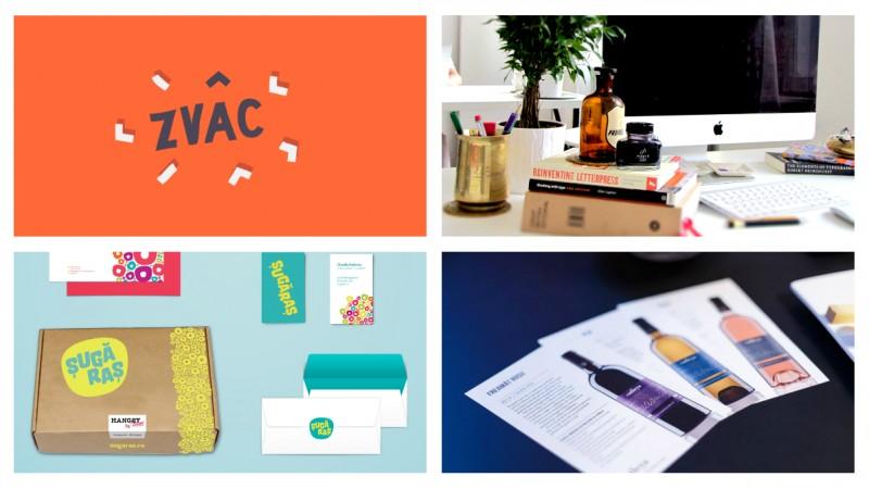 Studio Zvâc s-a specializat în design de print și proiecte editoriale. Samira Natour: În afară de mici excepții, lucrăm 100% cu clienți români