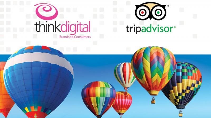 ThinkDigital este reprezentantul exclusiv de vânzări tip display advertising al TripAdvisor în Romania, Grecia, Bulgaria și Ungaria