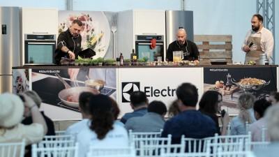 Electrolux a oferit românilor 3 zile gourmet, cu sprijinul Golin, la Bucharest Gourmet Festival
