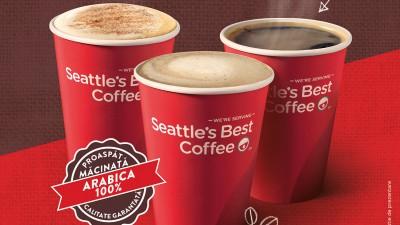 KFC include in meniu un nou brand de cafea - Seattle's Best Coffee
