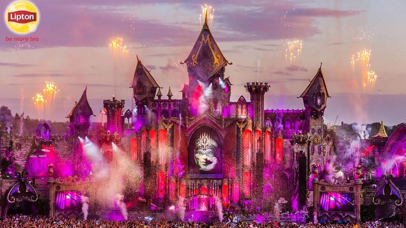 12 fani Lipton Ice Tea dau #verdelamuzica la Tomorrowland