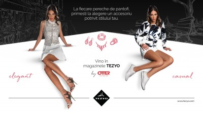 """Pantofi cu Pereche"" de la TEZYO"