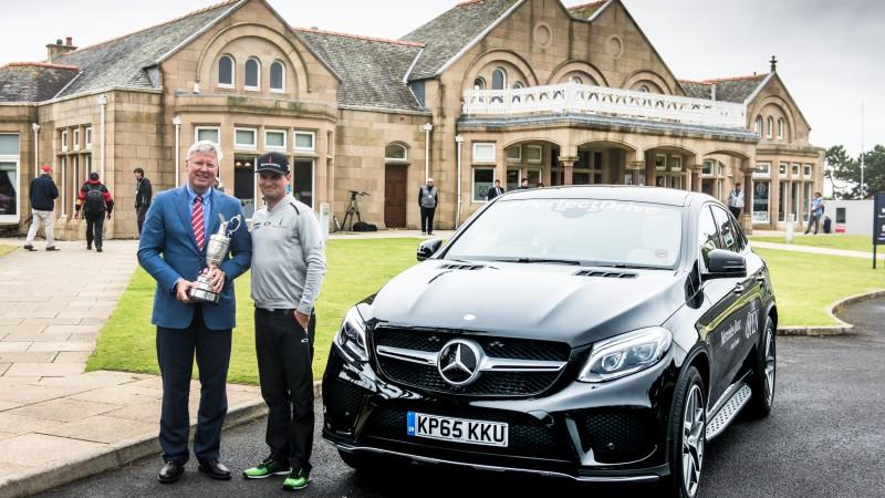Mercedes-Benz extinde sprijinul oferit Turneului de Golf The Open
