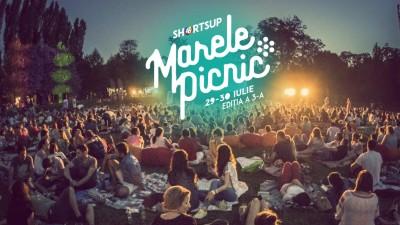 Marele Picnic ShortsUP, ediția 3: un weekend cu film și muzică sub cerul liber | Grădina Botanică București prinde viață pe 29 și 30 iulie