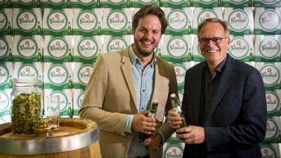 Ronald van Amerongen (Global Brand Director) on the new Grolsch packaging and its unconventional design process