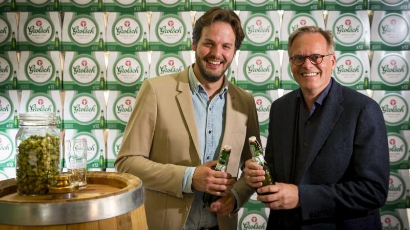 Ronald van Amerongen (Global Brand Director) despre noile ambalaje Grolsch si procesul neconventional prin care au fost create