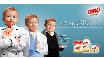 OMO și MullenLowe comunică importanța... petelor în creșterea copiilor