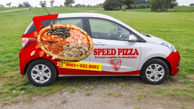 Speed Pizza - Visual Identity