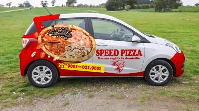 Speed Pizza - Visual Identity