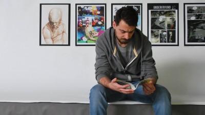 [Cu BD-urile în mână] Alex Talamba: Ca stil, încerc să interpretez forma, să o exagerez și să las liniei o libertate apropiată de cea a schiței