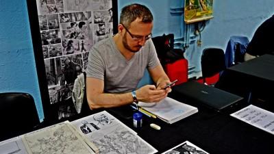 [Cu BD-urile in mana] Victor Drujiniu, artist trecut pe la Dark Horse, DC si Marvel: Mi-am incercat norocul in domeniu cand studioul de animatie in care lucrasem 2 ani s-a inchis