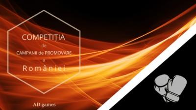 Competitia de campanii de promovare a Romaniei - AD.games
