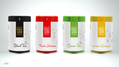Gourmet Coffee - Product Packaging Dolce Nera