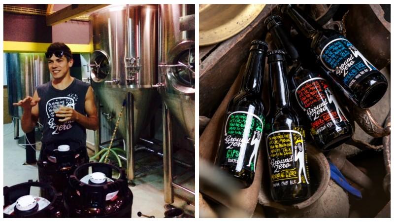 [Berile artizanale] Alin Matache: Am vrut ca Ground Zero Beer sa fie asociat cu momentul zero al industriei craft beer-ului in Romania