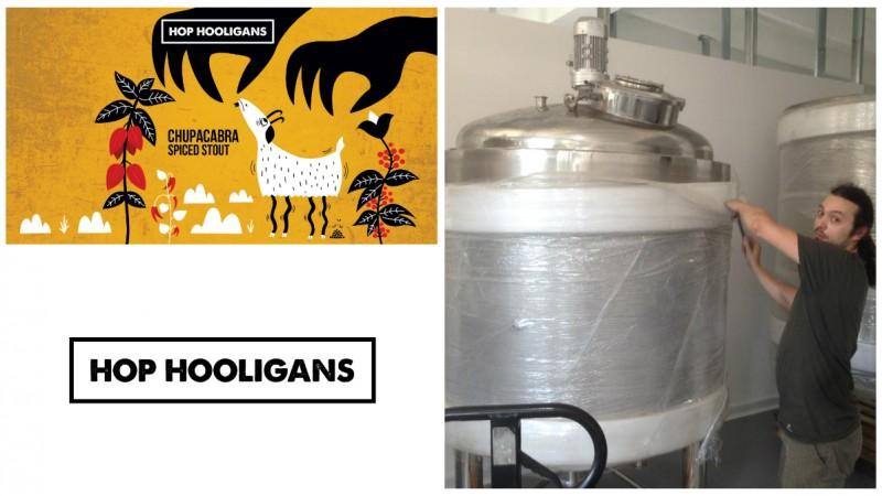 """[Berile artizanale] Hop Hooligans, trei la numar: """"Stilurile de bere sunt niste linii trasate drept si, de multe ori, destul de rigid"""""""
