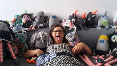 Eyecandy monsters - oximoron, dar si atelier handmade de mutunachi
