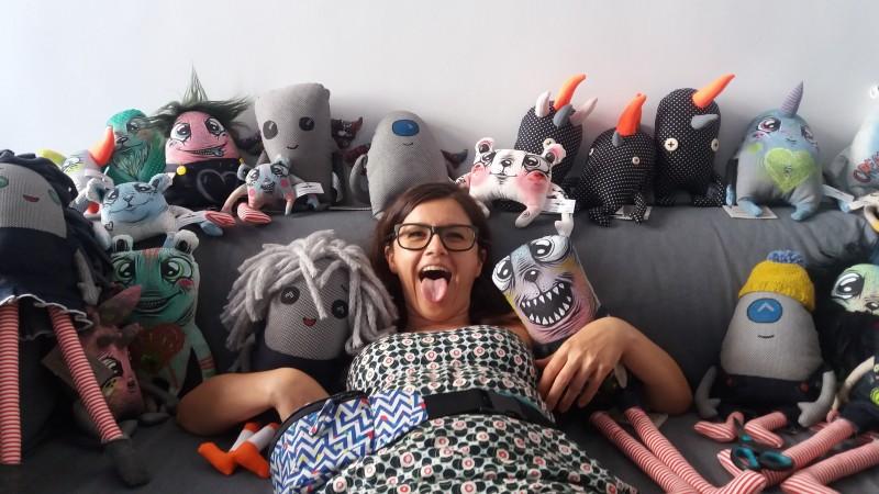 Eyecandy monsters - oximoron, dar si atelier handmade de mutunachi
