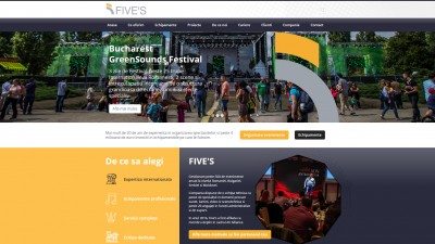 Compania Five's anunta lansarea noului site