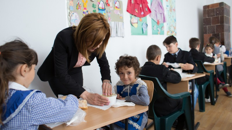 Golin comunica parteneriatul dintre Lidl si World Vision – Paine si Maine, un program dedicat luptei impotriva abandonului scolar