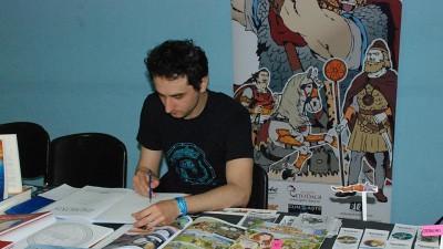 [Cu BD-urile in mana] Mihai Grajdeanu: Cand lucrez la o banda desenata sunt, in acelasi timp, regizor, cameraman, actor si uneori scenarist