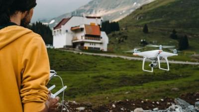Un strain cu drona prin Transilvania si un video de poveste