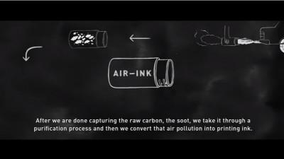 Să scriem cu aer poluat