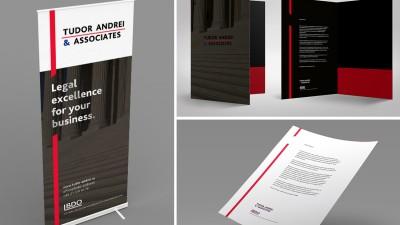 Tudor Andrei & Associates - Visual Identity