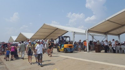 Event Stuff – pentru a patra oara integrator de logistica al Bucharest International Air Show