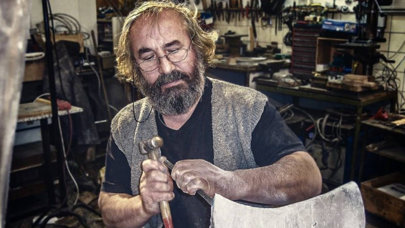 George Pavel, sculptorul roman care lucreaza ziua ce viseaza noaptea