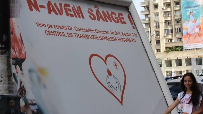 """Despre demersul """"N-avem SANGE!"""", cu Nadia Lazar (Crucea Rosie): Este gandit ca un proiect pe termen lung de informare/ constientizare si educare in ce priveste donarea de sange"""