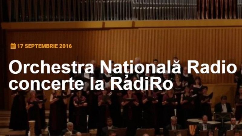 Noul Radio Romania Cultural, online cu Craft Interactive