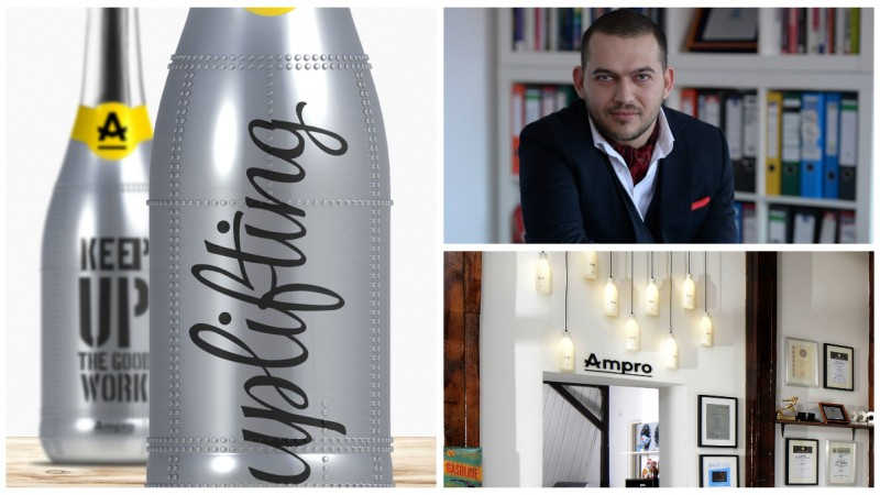 "Inovatii in design de packaging, capitolul ""Sticle"""