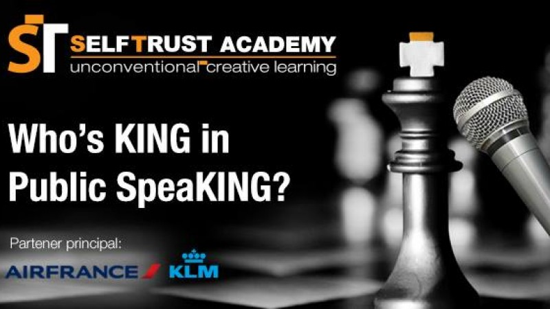 Who`s King in Public SpeaKING? Editia a V-a