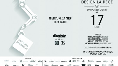 """Invitație la dialog liber creativ """"Industria designului"""", în deschiderea BIFE-SIM 2016"""