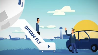 Dream Fly - Busola Dvs personala pe toata durata calatoriei!