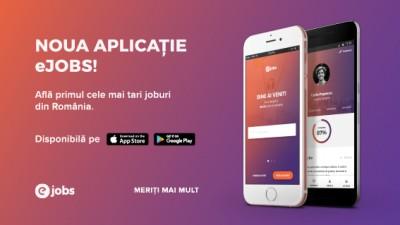 eJobs lanseaza cea mai fresh aplicatie de joburi
