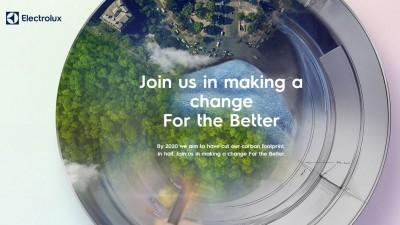 Electrolux, desemnat liderul industriei in sustenabilitate pentru al zecelea an consecutiv