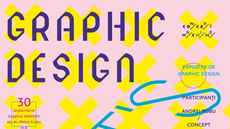 O expoziție manifest și în același timp un eveniment de celebrare a graphic designului românesc