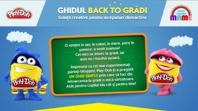 """Ghidul Back to Gradi"" – solutii creative pentru inceputuri distractive"