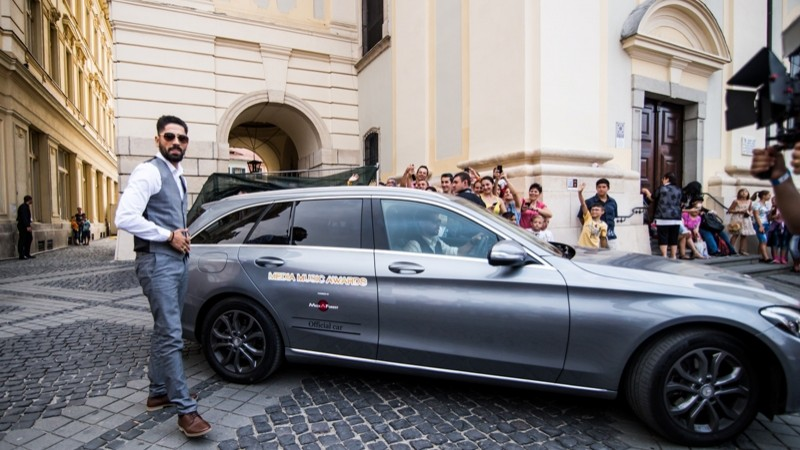 Mercedes-Benz este Maşina Oficială a Media Music Awards, pentru a treia oară consecutiv
