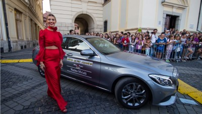 Mercedes-Benz a fost Masina Oficiala a Media Music Awards 2016, cel mai important eveniment al industriei muzicale romanesti