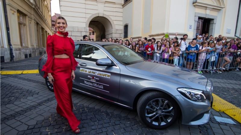 Mercedes-Benz a fost Masina Oficiala a Media Music Awards 2016, cel mai important eveniment al industriei muzicale romanesti